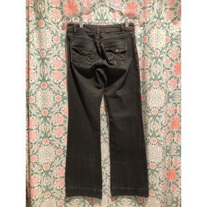 CABI Dark wash Stretch Victorian Flare jeans